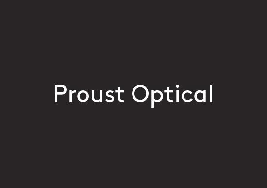 Proust Optical logo