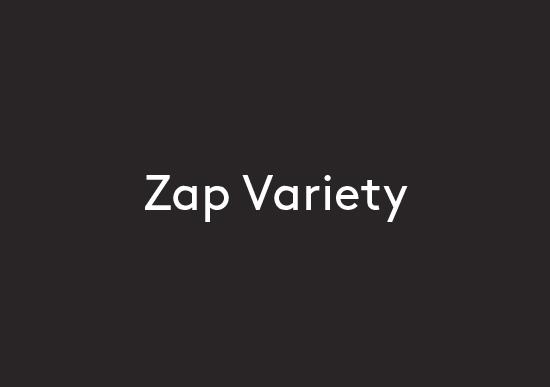 Zap Variety logo